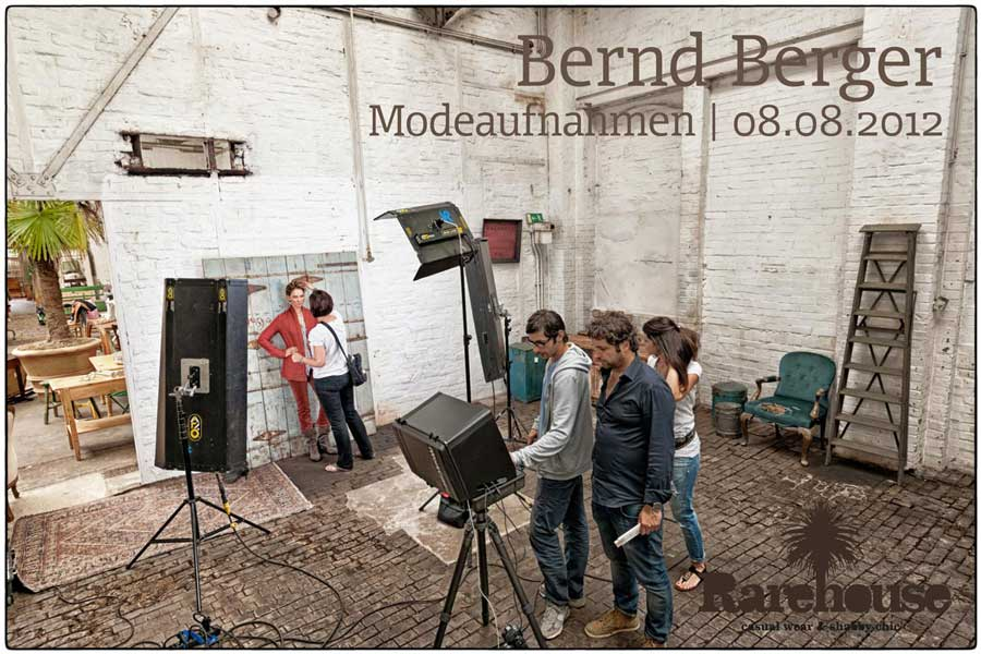 Bernd Berger FashionShoot im Rarehouse