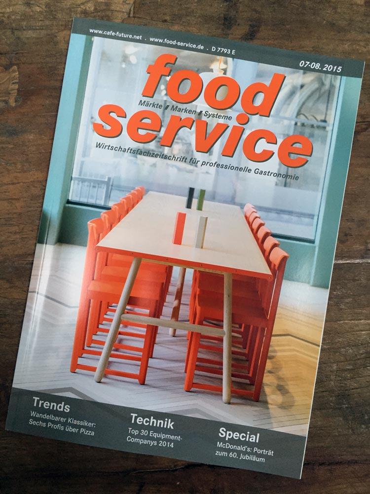FoodService Bericht zu Design des BurritoRico