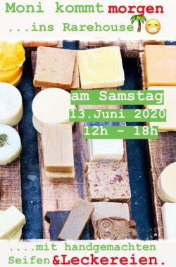 MONI und ihre handgemachten SEIFEN | Sa., 13. Juni 2020 12-18h