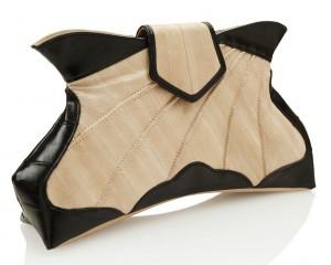 'Butterfly Fever' eel skin clutch by Makki