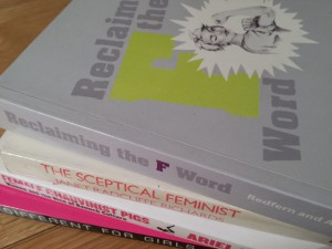 Some of my feminist books
