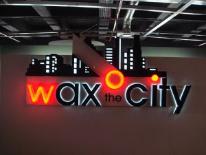 Wax in the City, in Sandton City. Image via deshanta's Flickr photostream