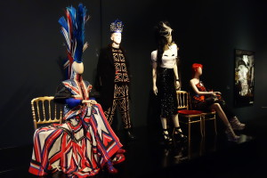 London has clearly been a big inspiration for Gaultier!