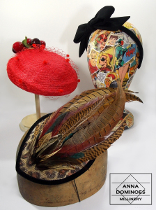 Assorted hats by Anna Dominoes