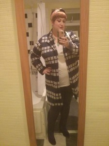 Another of Christina's outfit selfies