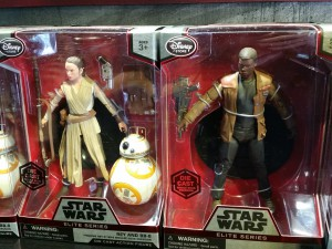 Star Wars Episode 7 action figures. Photo by lipsticklori