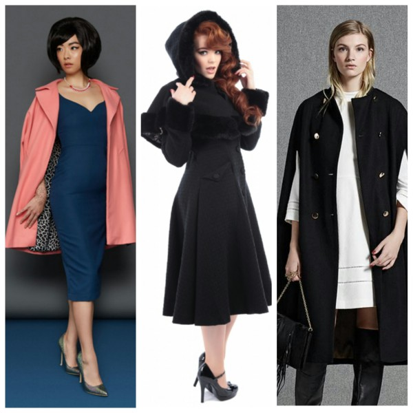 AW15 Coats from Tara Starlet, Collectif and Oasis