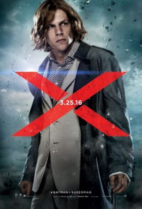 Lex Luthor poster for Batman v Superman