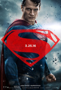 Superman poster for Batman v Superman