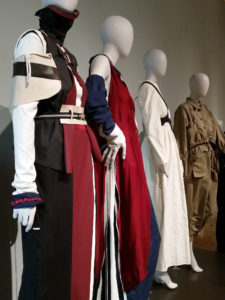 London College of Fashion students' work on display at Fashion & Freedom at Manchester Art Gallery
