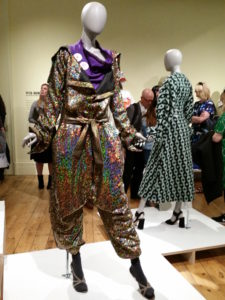 Garments on display at Manchester Art Gallery's Fashion and Freedom exhibition