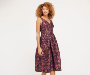 Warner jacquard midi dress from Oasis