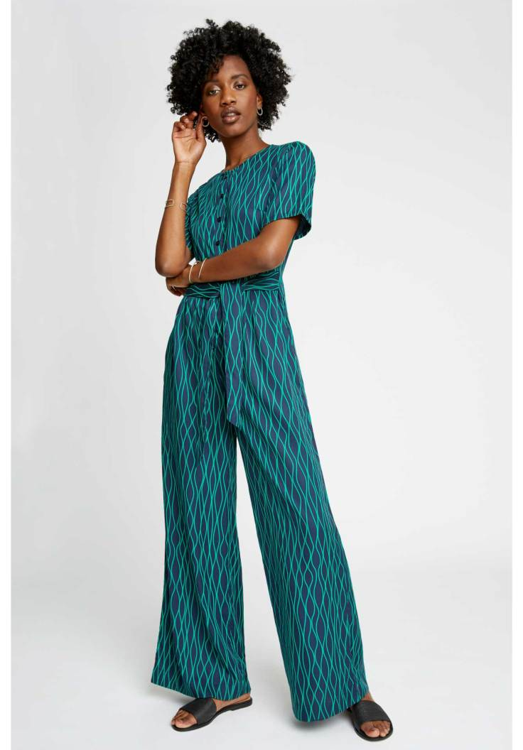 PEOPLE-TREE-rima-abstract-jumpsuit-in-green