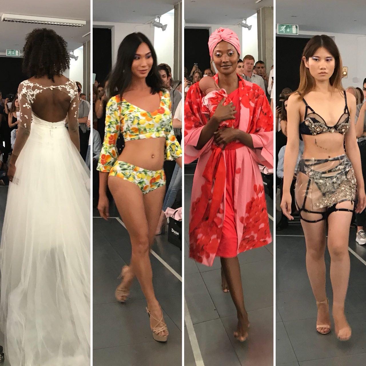 LCF BA Fashion Contour catwalk event 2018