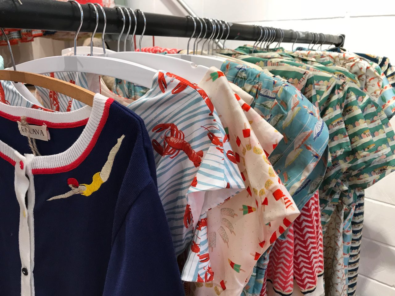 Gorgeous cardies and printed dresses from Palava