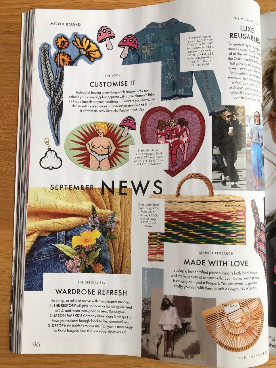 Elle UK, Sustainability Issue, September 2018