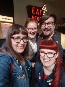 Brunch Club selfie in Kingly Court