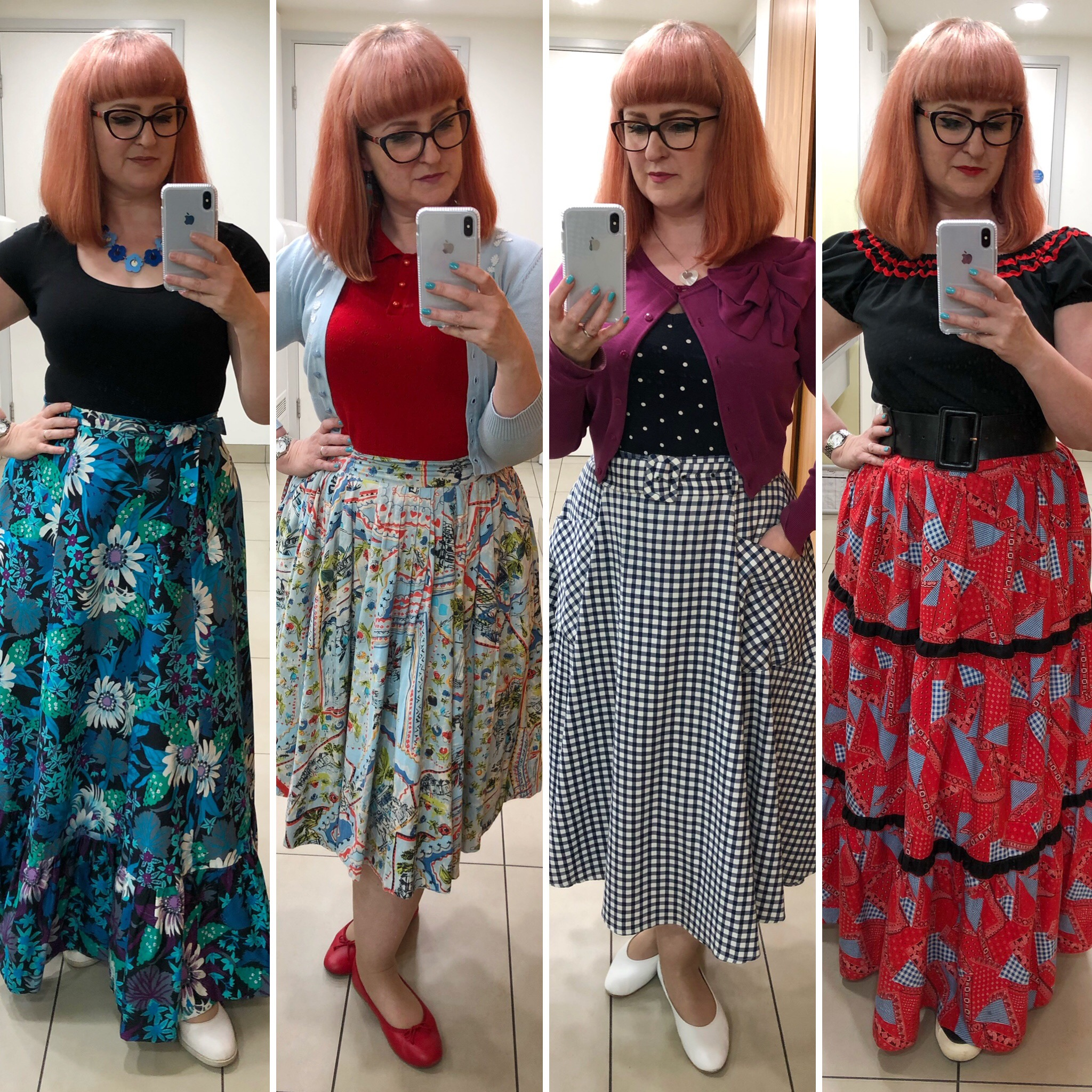 A selection of Lori's summer outfits