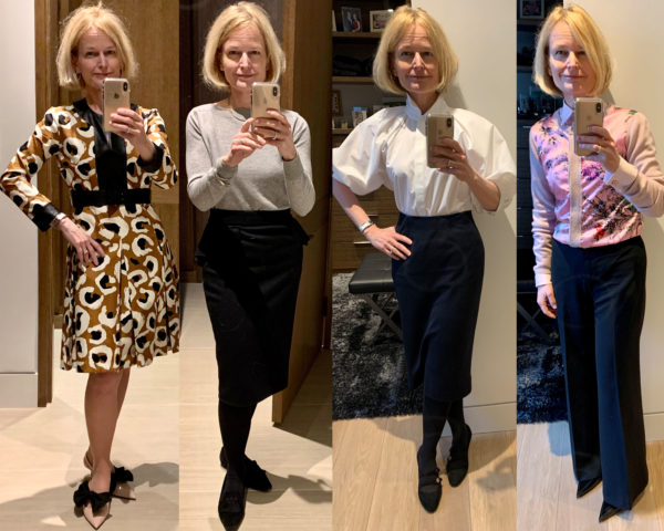 Some of Ingrid Mida's working from home outfits