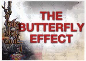 BUTTERFLY EFFECT-- THE - 2009 Big Day Out Dressing Room Laminate - 1