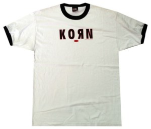 KORN - Life Is Peachy Logo Ringer T-Shirt - 1