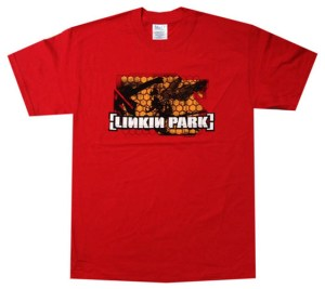 LINKIN PARK - Honeycomb Soldier Red T-Shirt - 1
