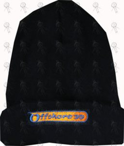 OFFSHORE FESTIVAL 1999 - Navy Blue Embroidered Beanie - 1