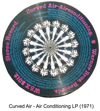 curved air picture disc