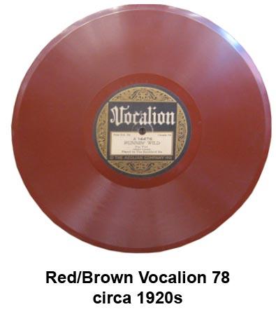 vocalion colored vinyl records