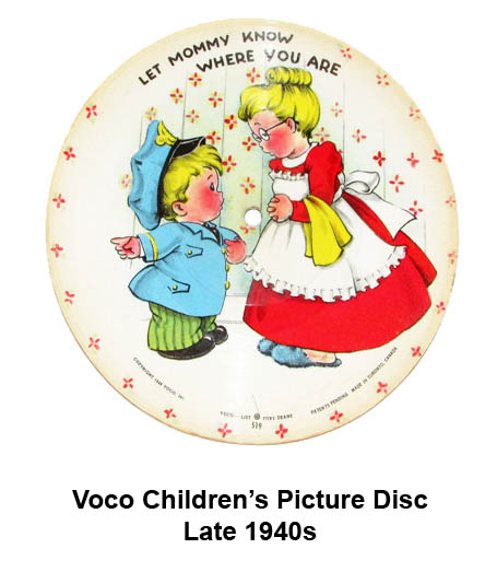 Voco children's picture disc