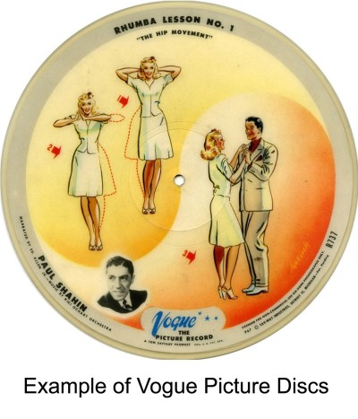 example of vogue picture discs