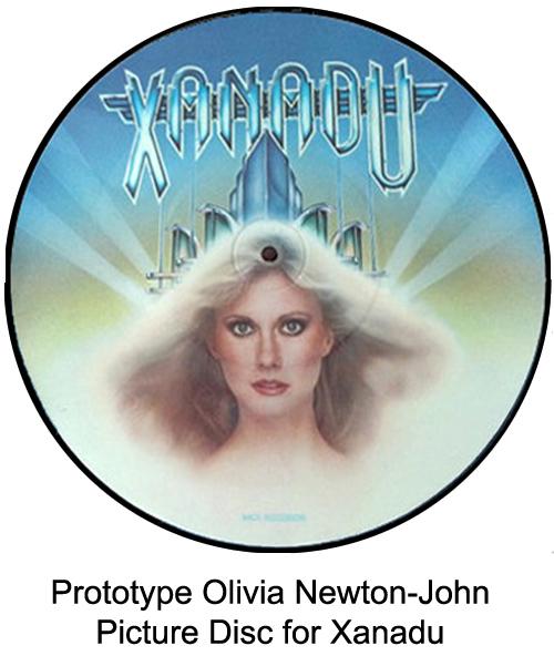 xanadu prototype picture disc
