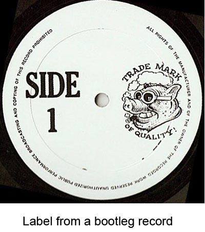 bootleg records