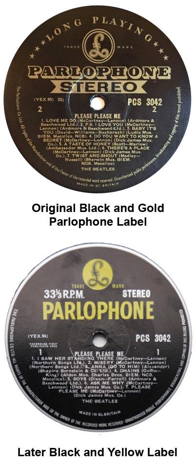 beatles albums parlophone