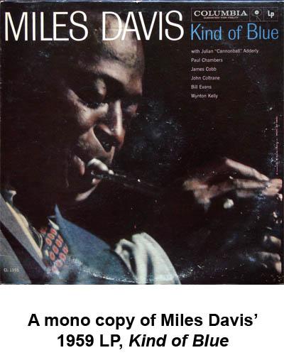 miles davis kind of blue mono