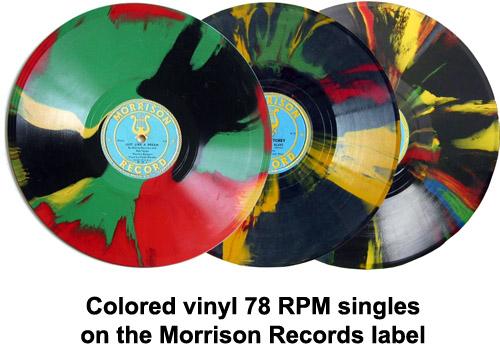 morrison records colored vinyl
