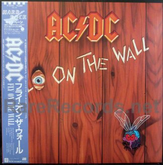 ac/dc - fly on the wall japan lp