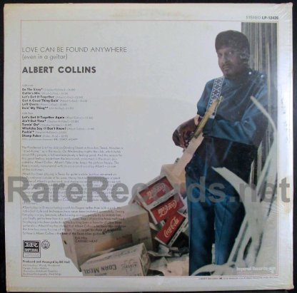 albert collins - love can be found anywhere u.s. lp