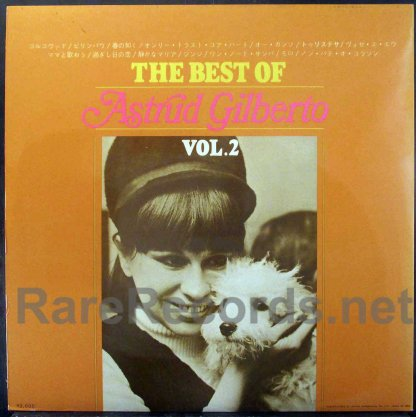 Astrud Gilberto - Best of Vol. 2 Japan LP
