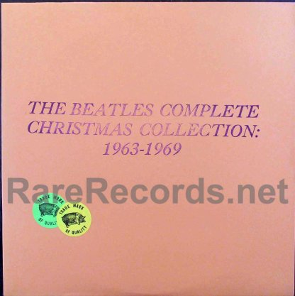 beatles - complete christmas collection tmoq lp