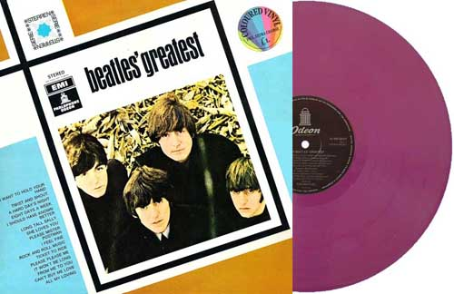 beatles greatest holland purple
