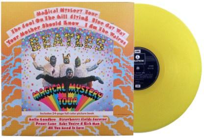 beatles - magical mystery tour uk yellow vinyl LP