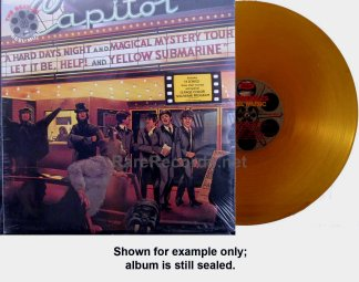 beatles - reel music yellow vinyl lp