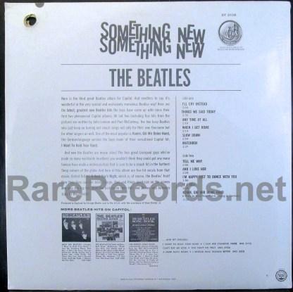 beatles - something new u.s. stereo lp