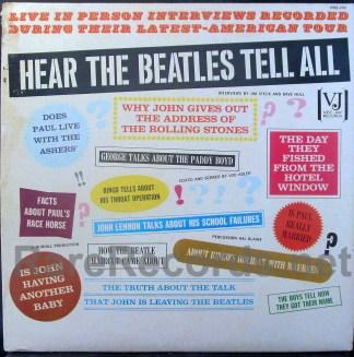 beatles - Hear the Beatles Tell All u.s. lp