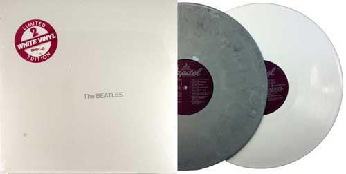 beatles white album experimental gray vinyl
