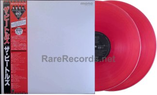 beatles -white album japan red vinyl mono lp