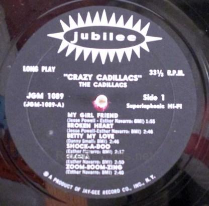 the crazy cadillacs LP