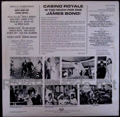casino royale - german soundtrack LP