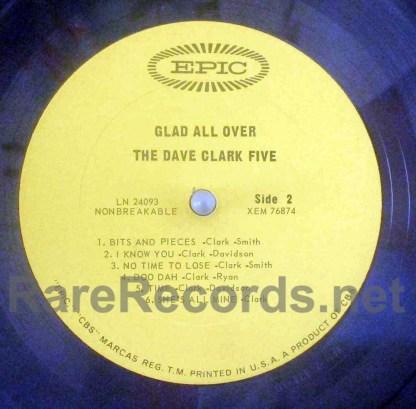 dave clark five - glad all over u.s. mono lp